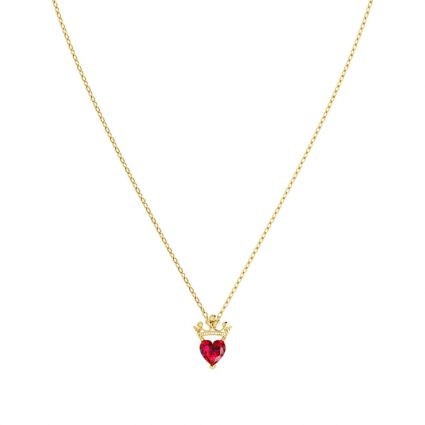 Pure  Elegance Necklace in 18k yellow gold