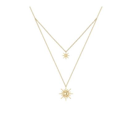 Sunny NecklaceDouble Necklace, in 18 K yellow gold