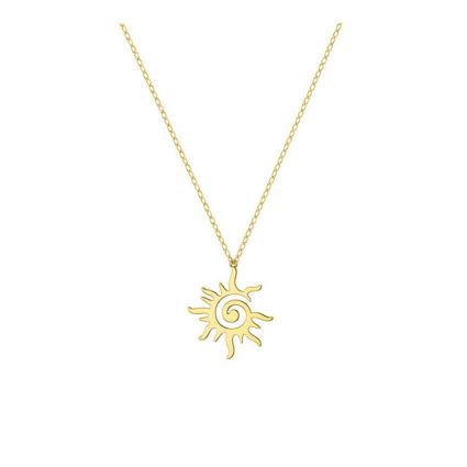 Sunny Necklace, in 18 K yellow gold