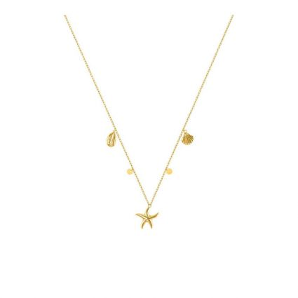In love with Summer Necklace, in 18 K yellow gold