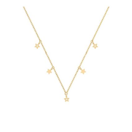 Sky Full of Stars Necklace, in 18 K Yellow Gold