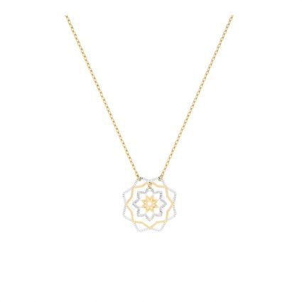 My Round Flower Necklace, in 18 K Yellow Gold