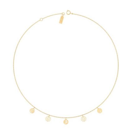 My Soul Necklace, in 18 K yellow gold
