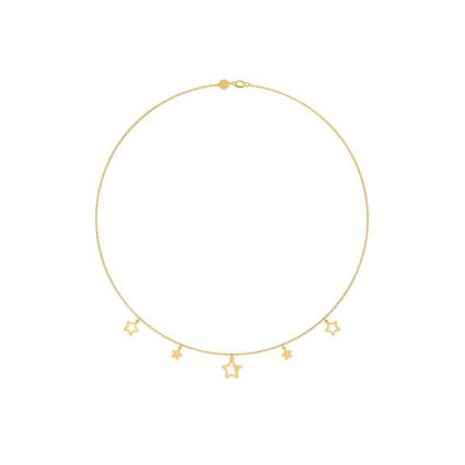 Multistar necklace, in 18K yellow gold