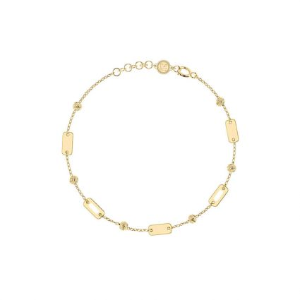 For the love of geometry Bracelet, in 18 K yellow Gold